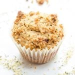 Whole Wheat Banana Muffins with Hemp Seed Streusel
