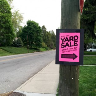 How We Made $1549 in One Weekend (AKA: My Awesome Yard Sale Tips!)