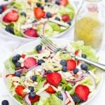 Summer Berry Salad with Lemon-Poppyseed Vinaigrette