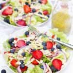 Summer Berry Salad with Lemon-Poppyseed Vinaigrette