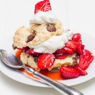 Chocolate Chip Strawberry Shortcake