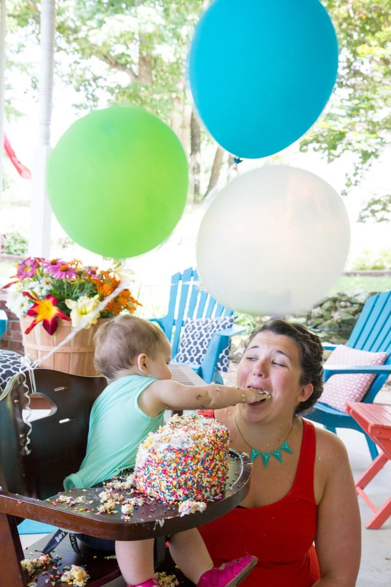 Junipers First Birthday Party Wholefully