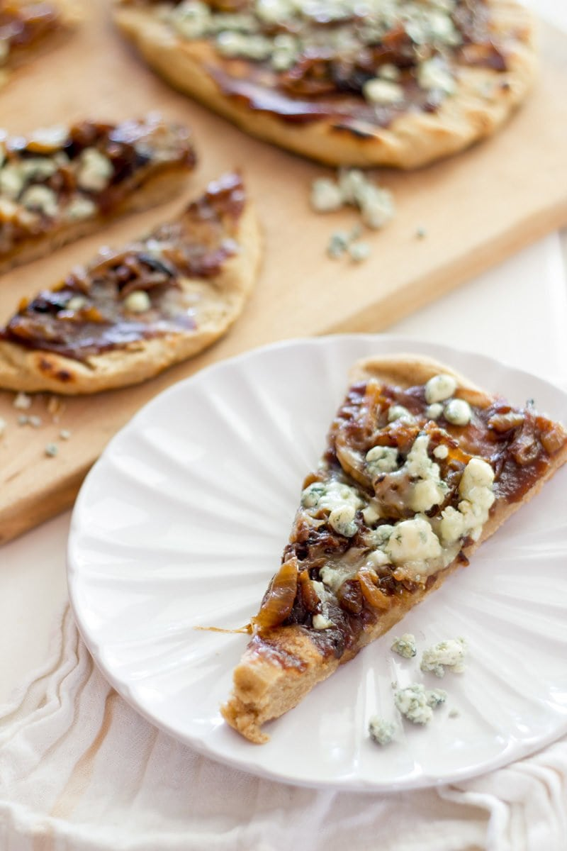Grilled Caramelized Onion, Blue Cheese, and Apple Butter ...