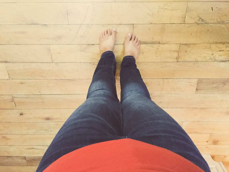 Me Feet and Jeans