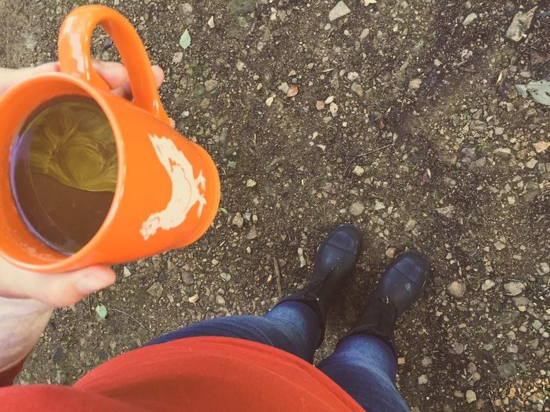 Coffee Feet Walk