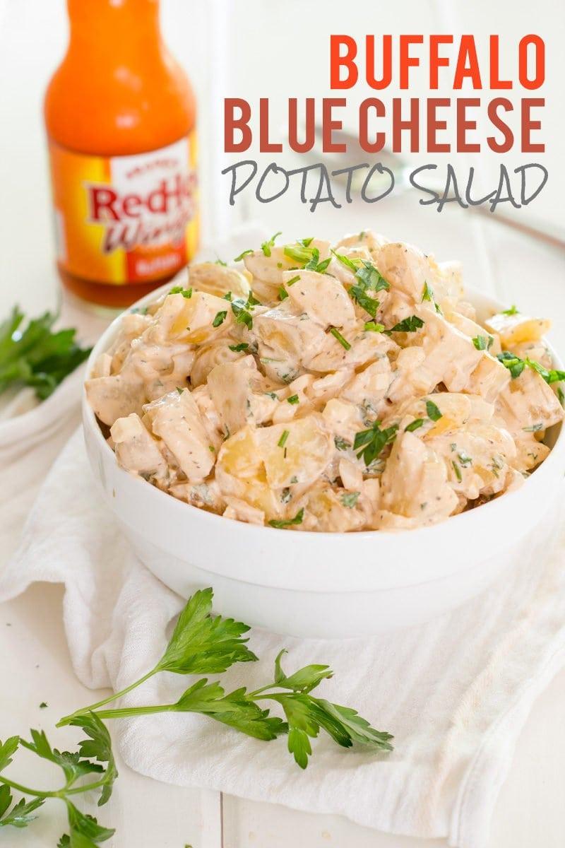 Buffalo Blue Cheese Potato Salad