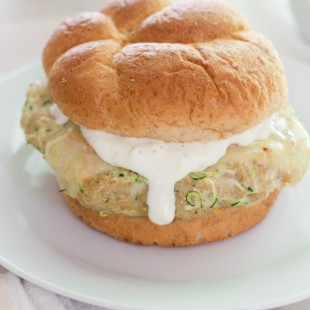 Zucchini Chicken Burgers