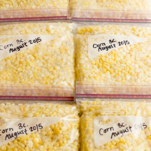 How to Freeze Corn