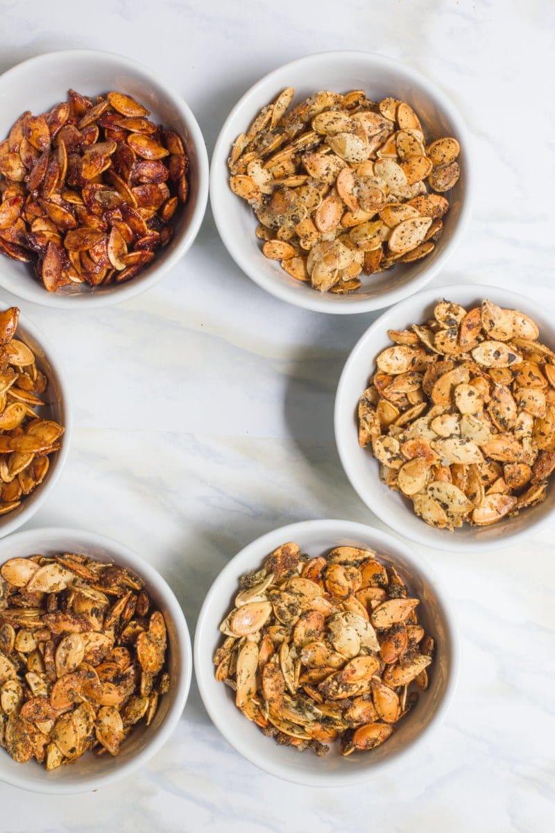 Roasted Pumpkin Seeds /// Six Ways - Wholefully