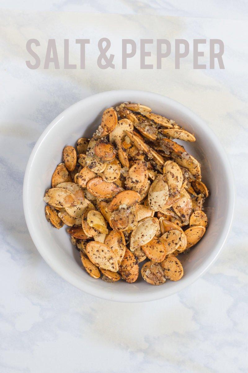 Salt & Pepper Pumpkin Seeds