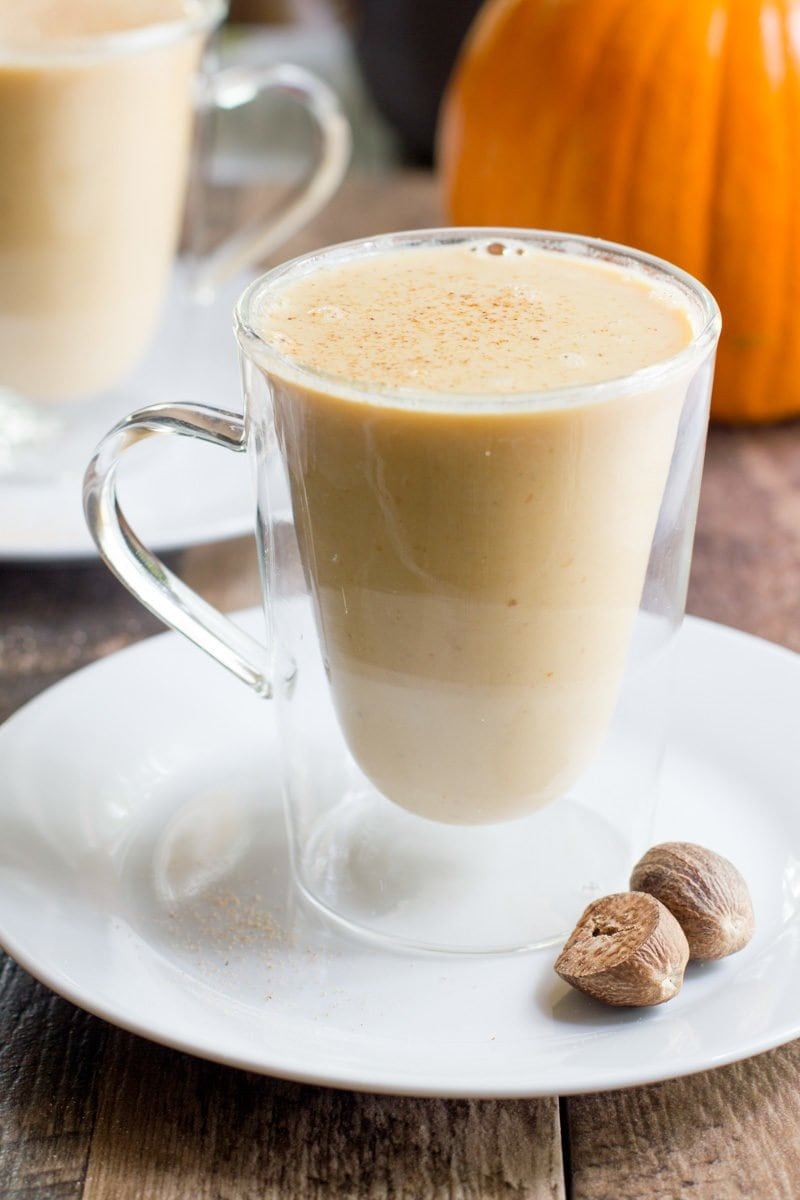 Pumpkin White Hot Chocolate