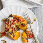Portabella Stuffed Sweet Potatoes