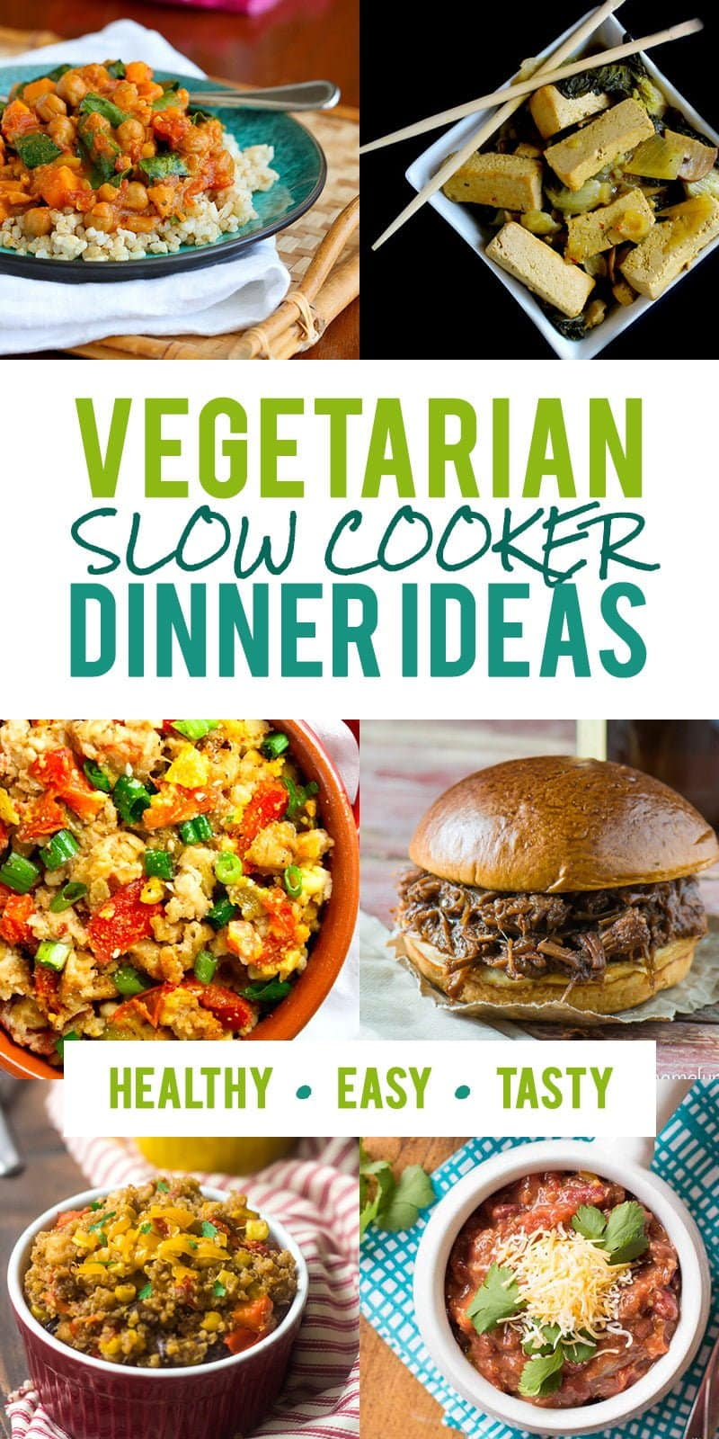 12 vegetarian slow cooker dinner recipes | wholefully