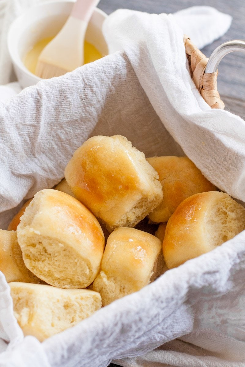 Easy Buttery Yeast Rolls | Wholefully