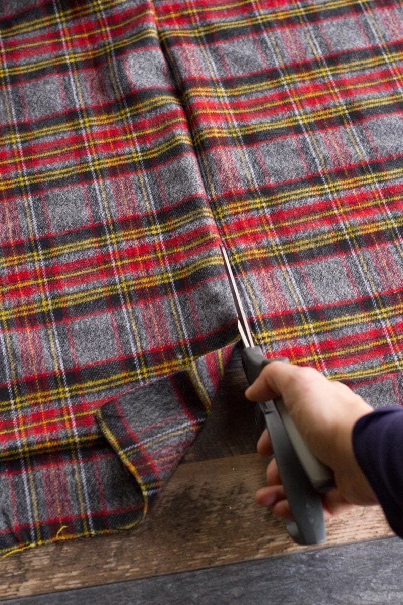 Cutting Flannel