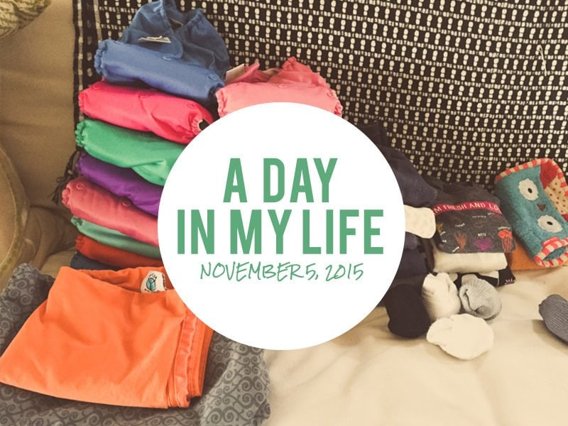 A Day In My Life: November 5, 2015