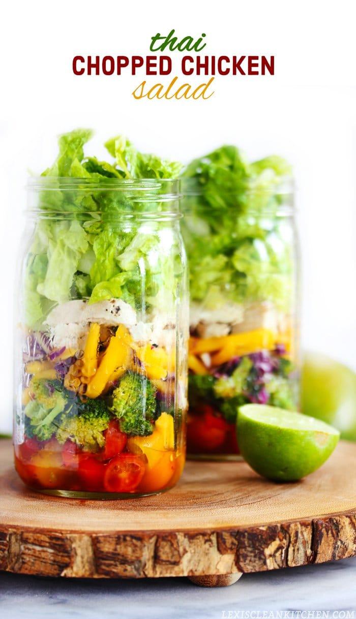 Thai Chopped Chicken Salad Lexis Clean Kitchen