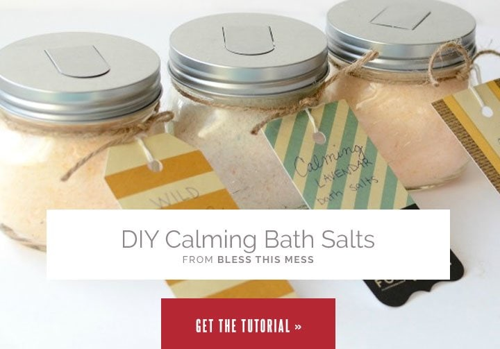 DIY Calming Bath Salts from Bless This Mess