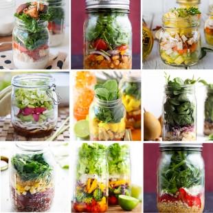 30 Salad in a Jar Recipes