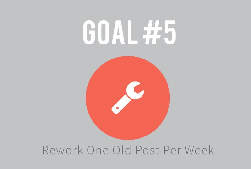 Goal #1: Rework Old Posts