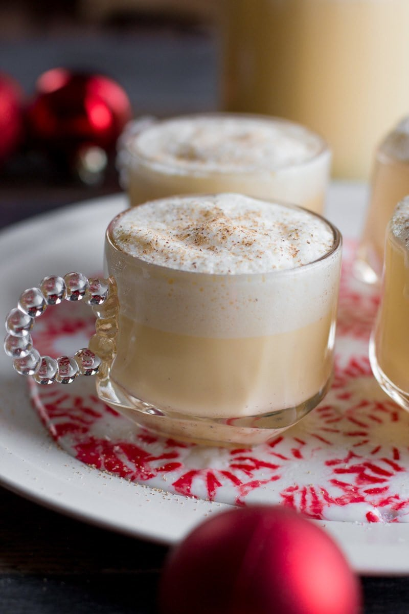 Homemade eggnog spiked or not wholefully homemade eggnog forumfinder Image collections