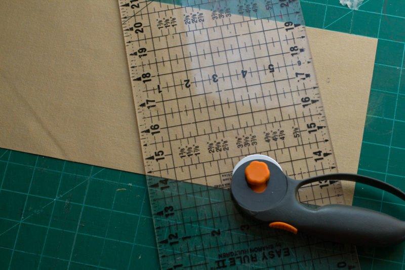 Simple DIY Leather iPad Case