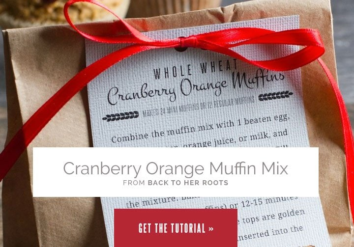 Cranberry Orange Muffin Mix from Wholefully