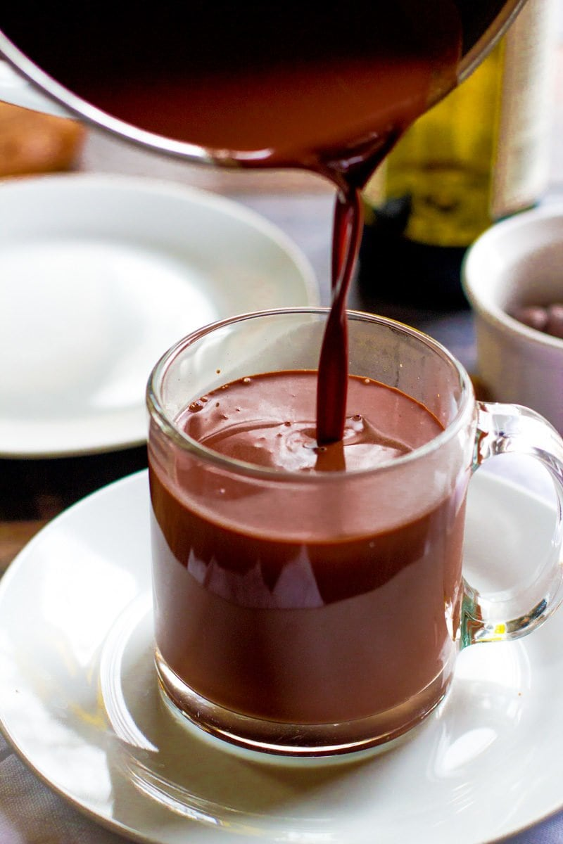 Red Wine Hot Chocolate - Wholefully
