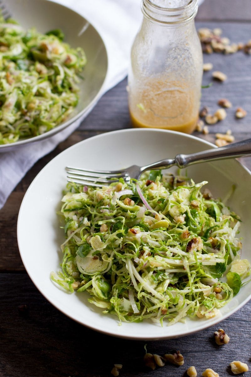 Shaved brussels sprouts recipe
