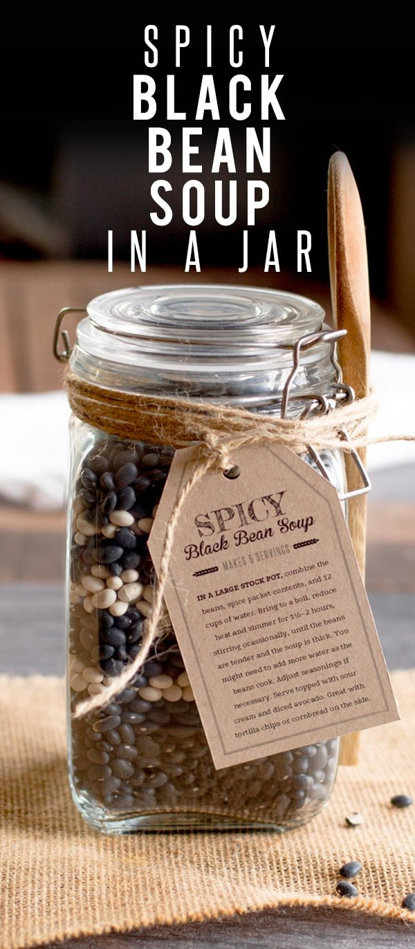 Spicy Black Bean Soup In A Jar Wholefully