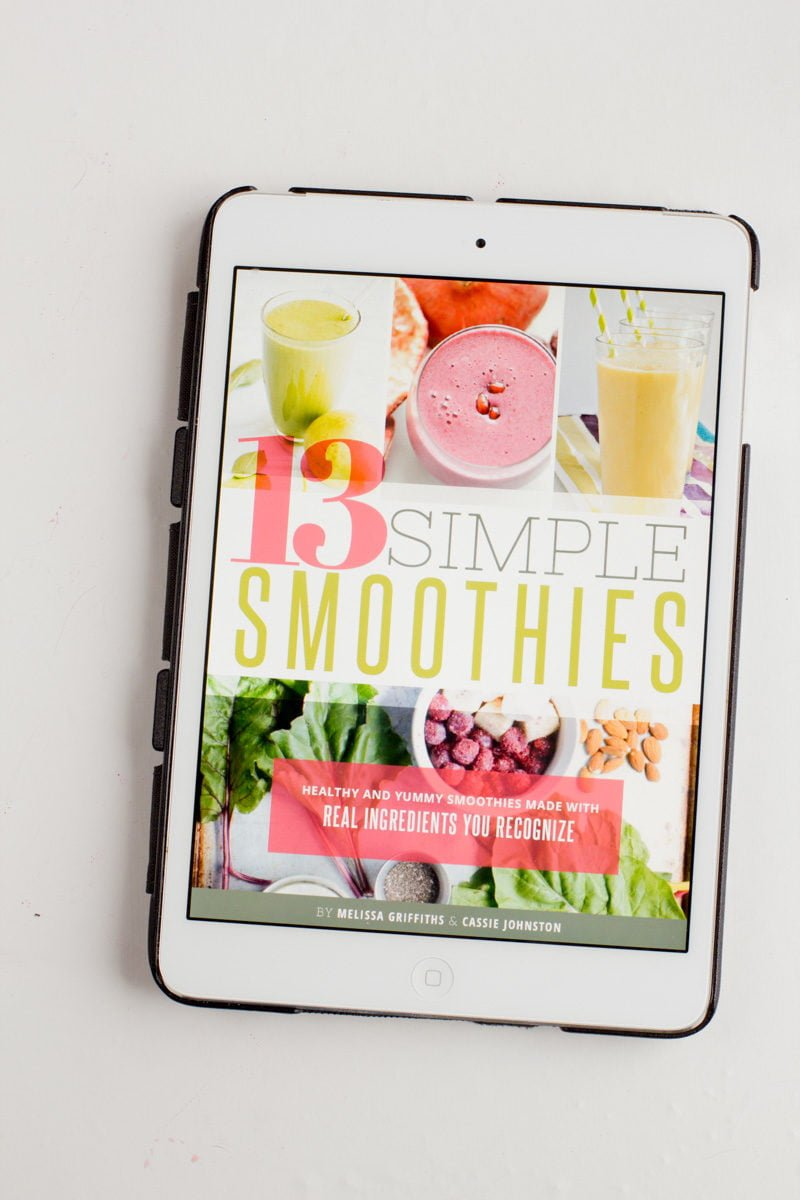 '13 Simple Smoothies' from the web at 'https://wholefully.com/wp-content/uploads/2016/01/staple-smoothies-19-800x1200.jpg'