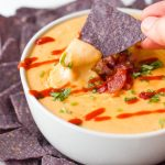 Bacon Sriracha Queso