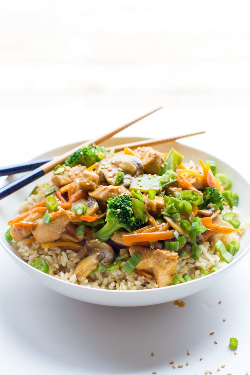 Healthy Chicken Stir Fry