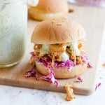 Slow Cooker Sriracha Chicken Sliders
