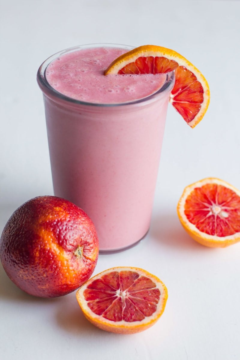 Strawberry Blood Orange Smoothie