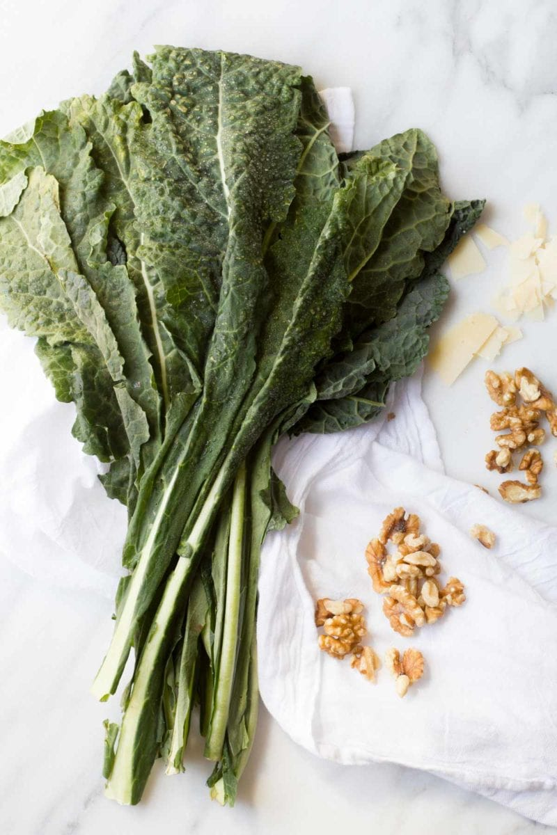 Kale and Walnut Pesto