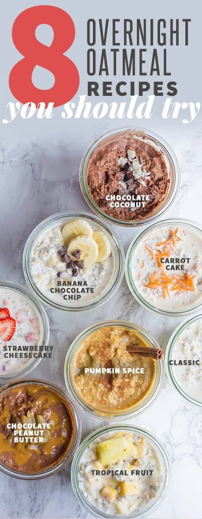 8 Classic Overnight Oats Recipes You Should Try Wholefully