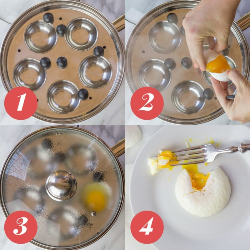 4 Ways to Perfectly Poach an Egg: Egg Poaching Pan