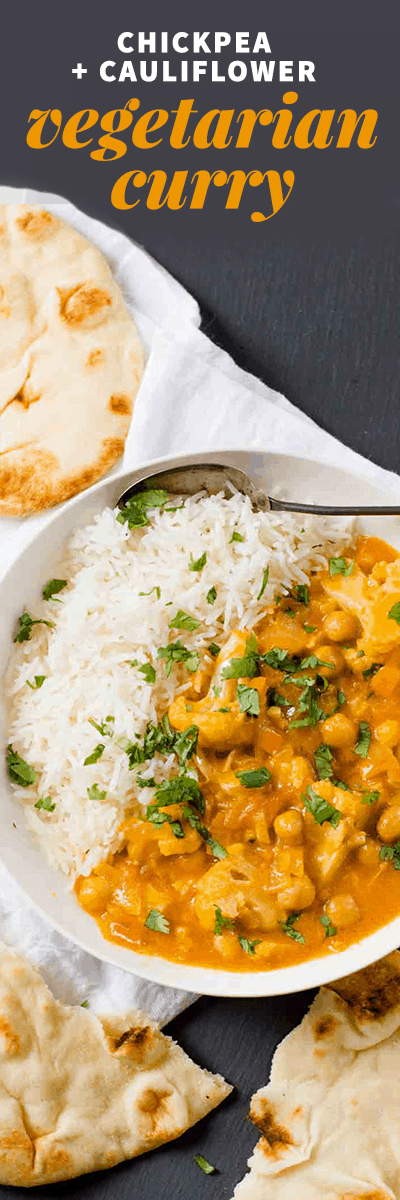 Chickpea and Cauliflower Curry - Wholefully
