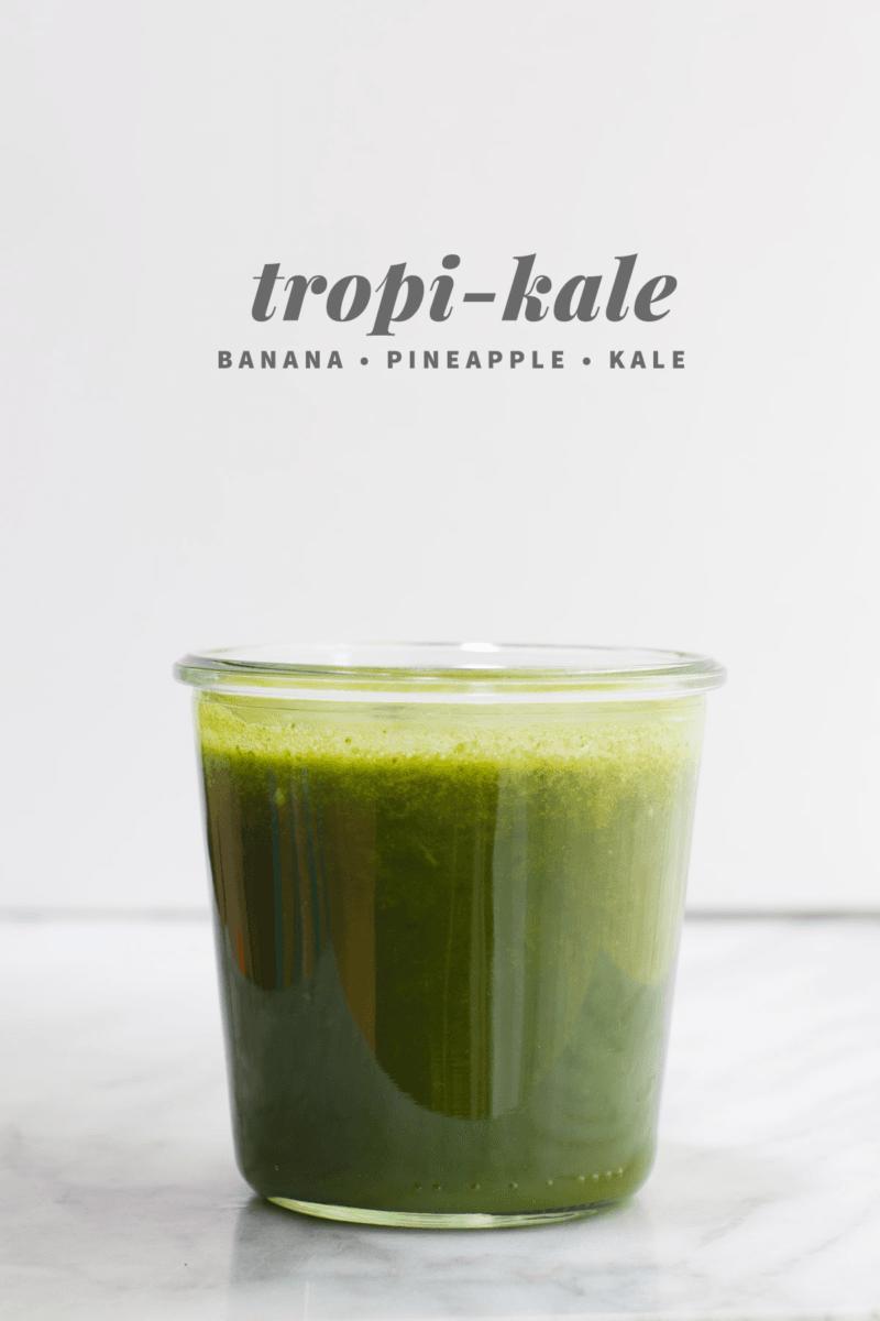 Tropi-Kale Juice