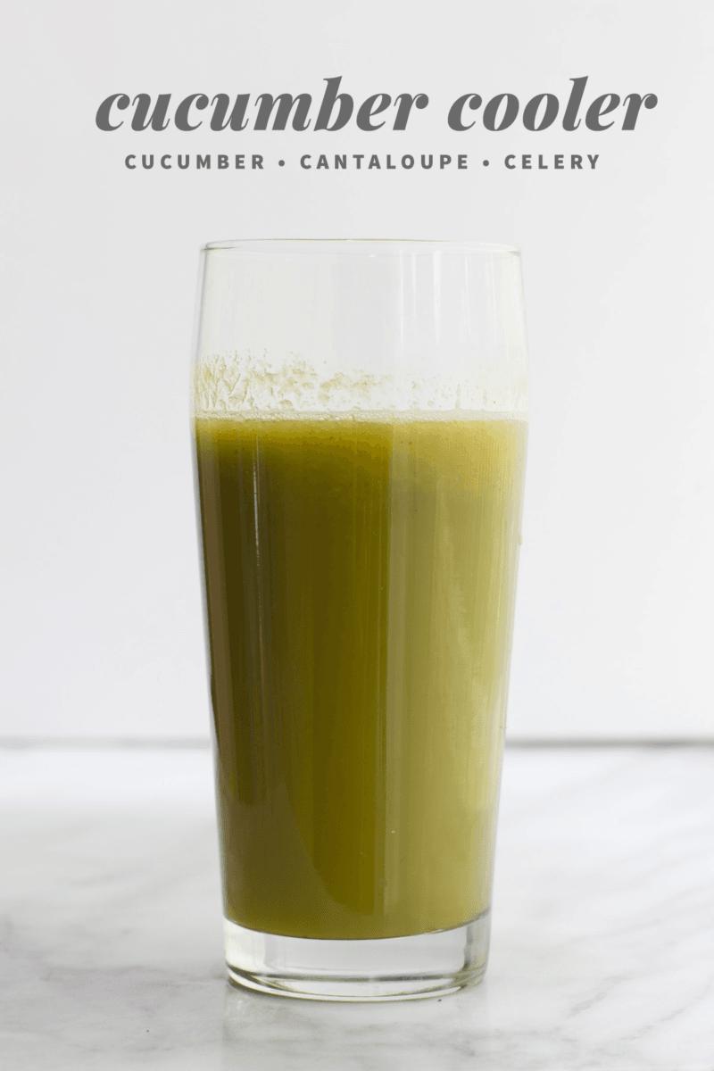 Cucumber Cooler Juice
