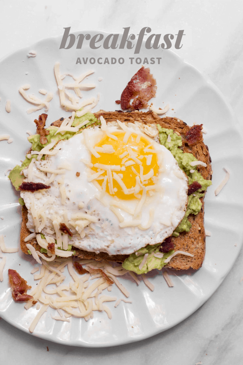 Breakfast Avocado Toast