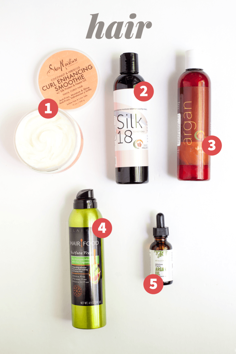 My Favorite Natural Beauty Products: Hair