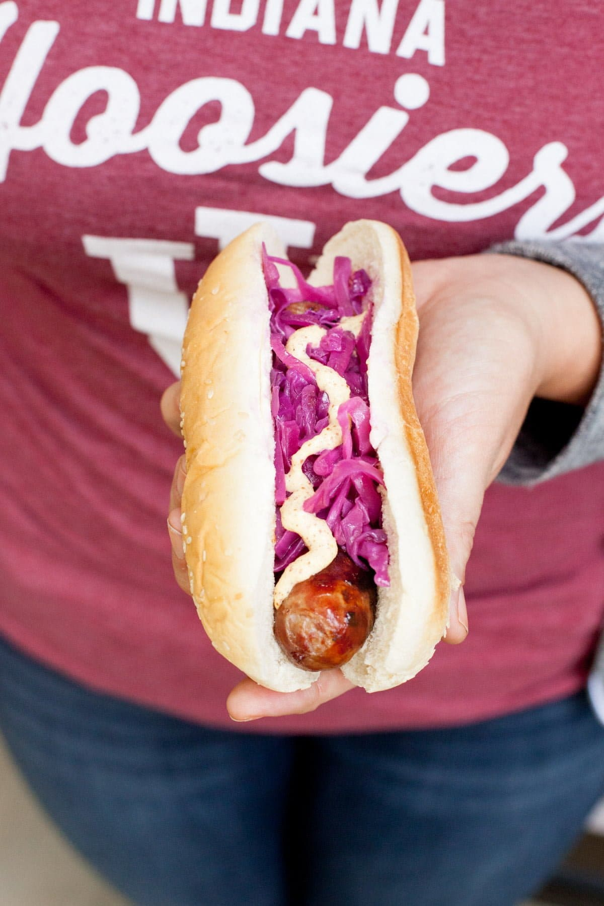 recipe: beer braised brats and cabbage [24]