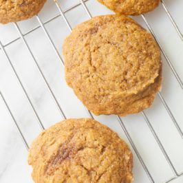 Small Batch Chewy Pumpkin Spice Cookies