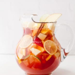 Autumn Apple Rosé Sangria
