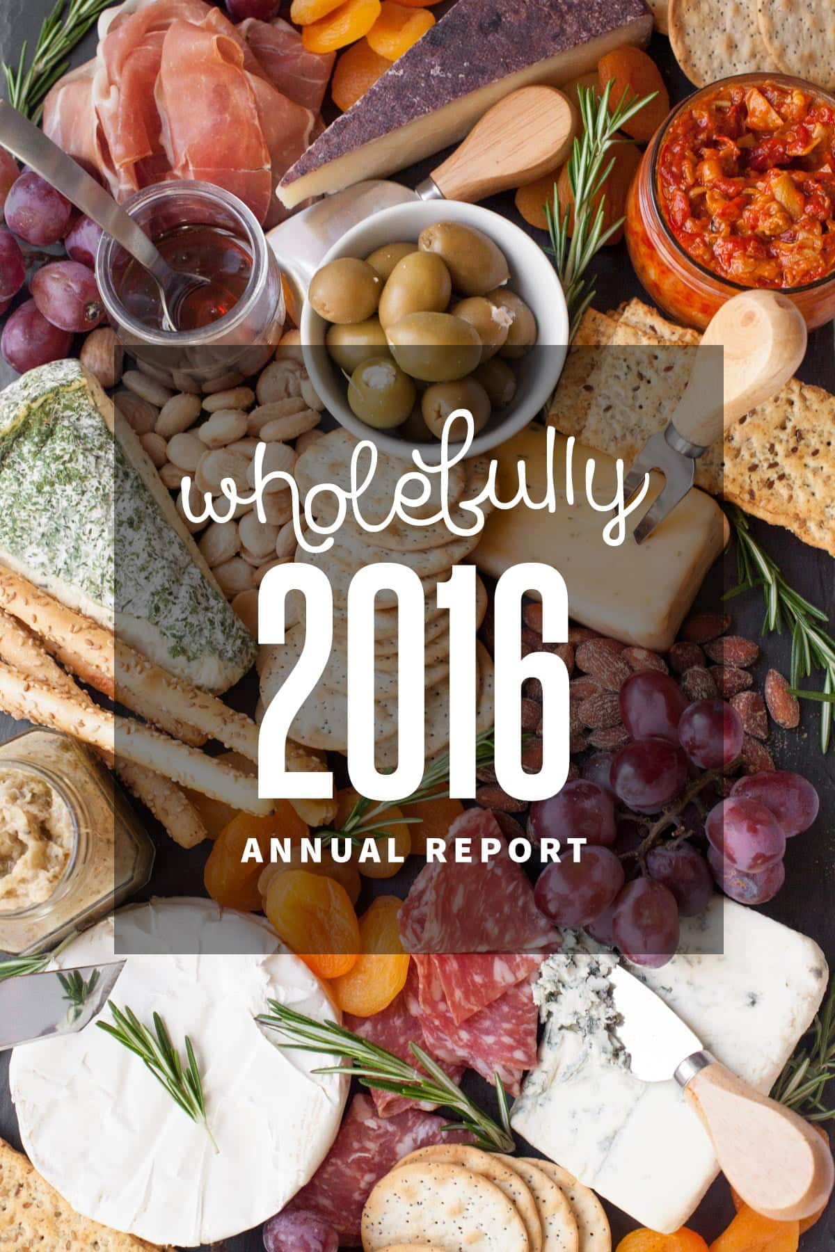 Wholefully 2016 Annual Report