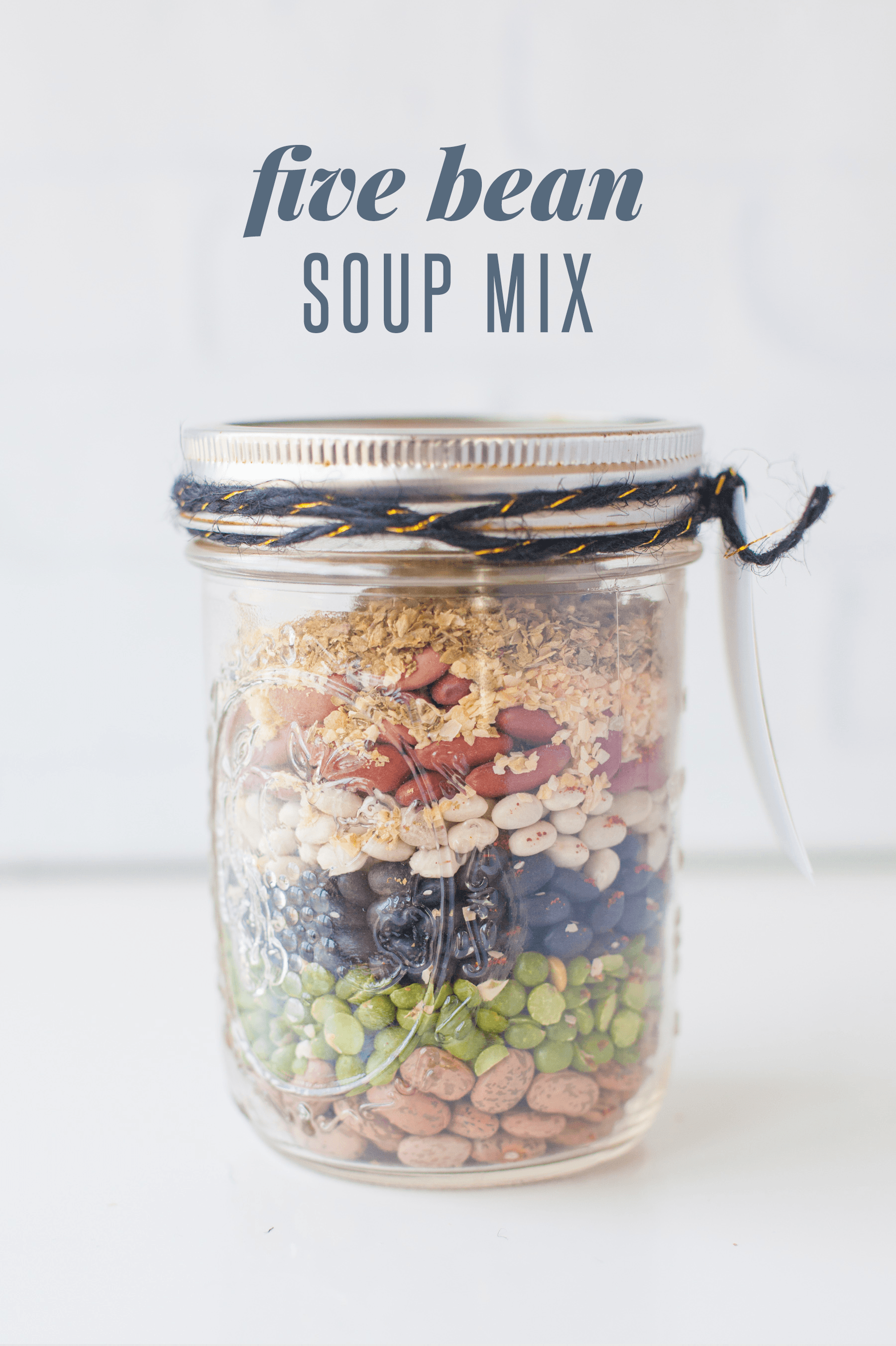 Five Bean Soup Mix