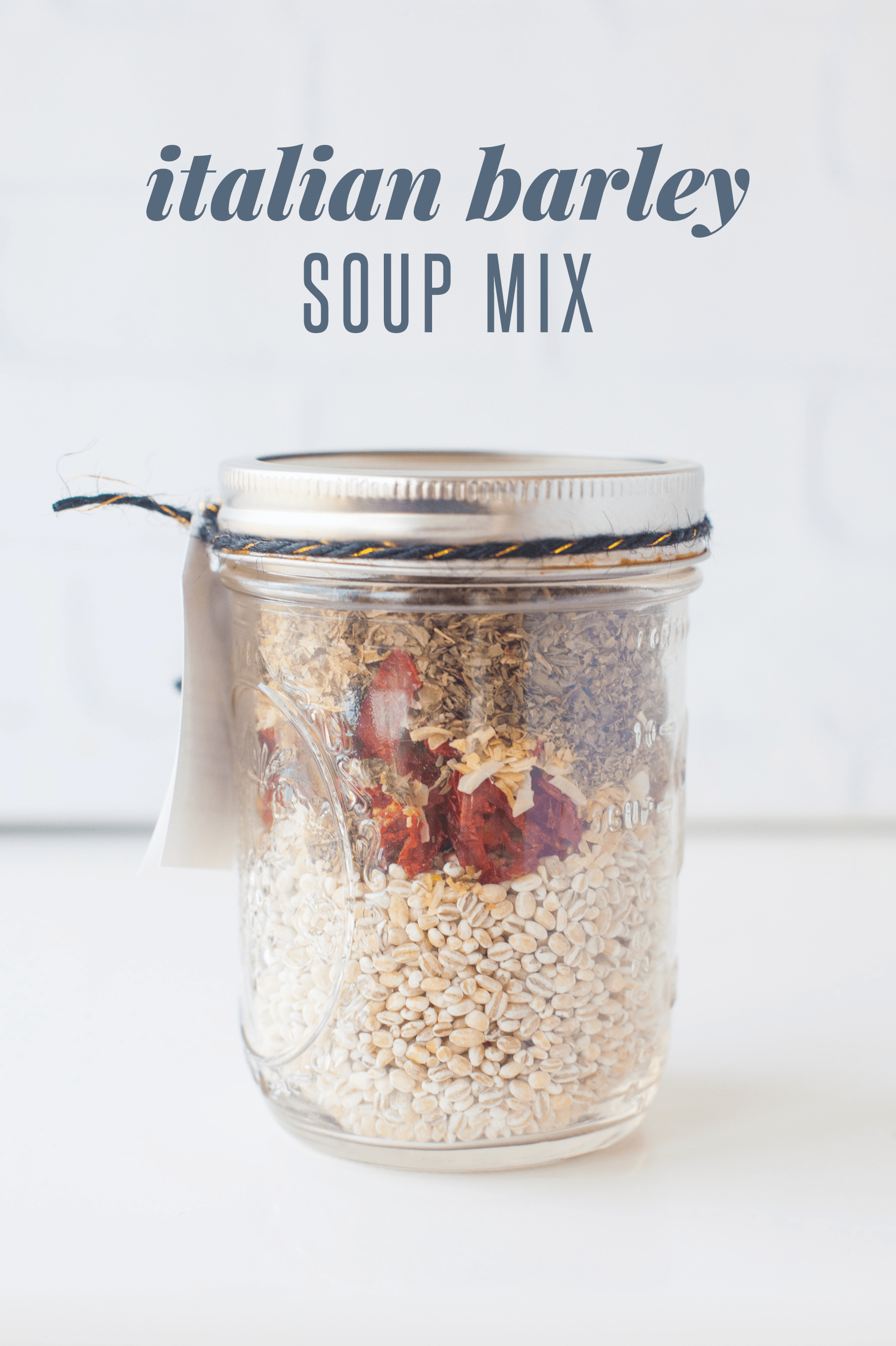 Italian Barley Soup Mix
