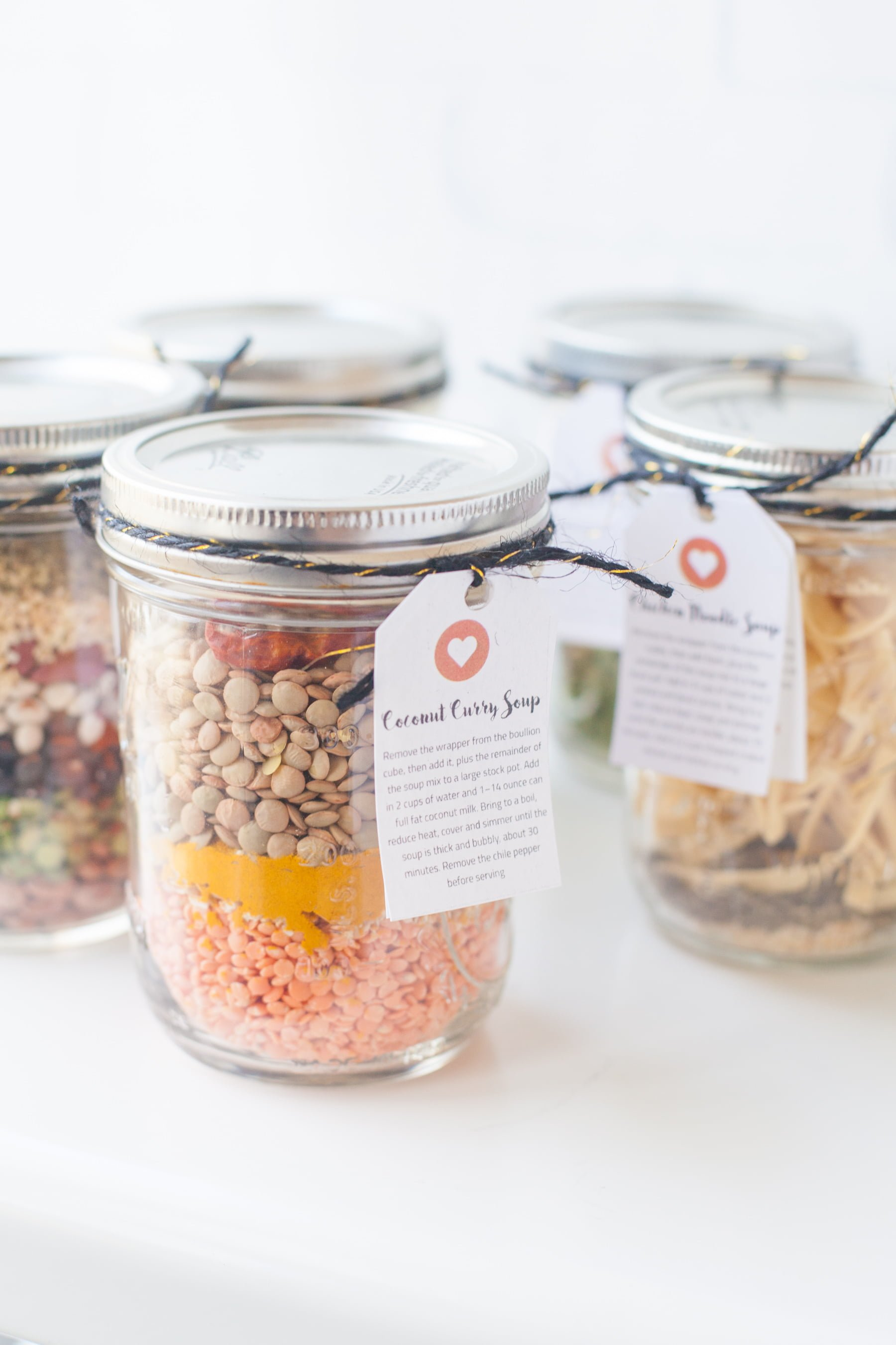 6 Homemade Soup Mixes in a Jar | Wholefully